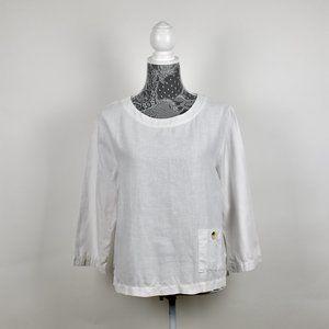 Hot Cotton White blouse size MP